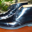 Black Work America Union Made USPS Men's Leather Boots Size 9 E