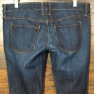 WOMENS FRANKIE B LOW RISE DARK STRETCH BOOT CUT JEANS SIZE 29 X 31