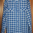 Patagonia Organic Cotton Mens Flannel Long Sleeve Shirt Large
