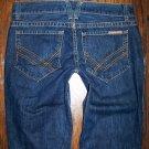 William Rast Ben Straight Leg Dark Mens Jeans Size 32