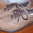 Womens SAS Free Time Brown Nubuck Leather Comfort Shoes Oxfords 8 S