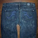 Womens Rock Republic Straight Leg Jeans Size 28