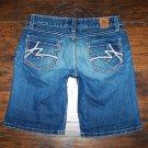BKE Buckle Starlite Stretch Denim Jean Shorts Size 27