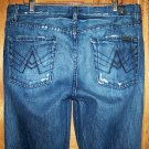 Mens 7 for all Mankind A Pocket Bootcut Style Jeans Size 30 x 33