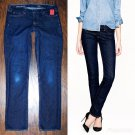 J.Crew Women's Matchstick Stretch Dark Classic Rinse Wash Jeans 28s 28 x 31