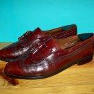 Allen Edmonds Arlington Wingtip Leather Kiltie Tassel Loafers Size 11.5 C