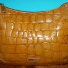 DESMO Original Italian Croc Shoulder Bag Leather Purse