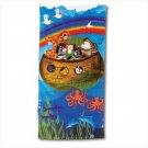 Noah's Ark Design Beach Towel