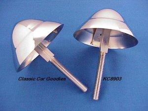 1957 Chevy Front Bumper Bullets Belair 210 150 Chrome!