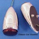 1939 Chevy Tail Light Ass'y Chrome New Pair! Street Rod