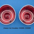 1971 Chevelle SS Tail Light Lenses. Brand New Pair!