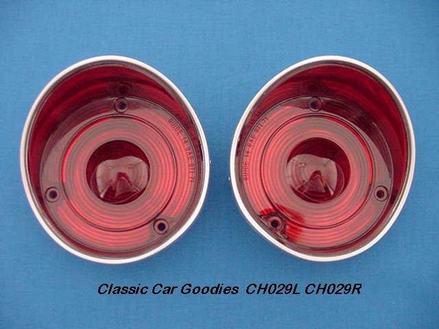1971 Chevelle Tail Light Lenses. Brand New Pair!