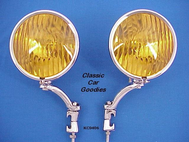 Fog Lights #1 Chevy Cadillac Lincoln Packard 1926 1928 1939