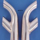 "Pontiac Firebird ""Trans Am"" Dual Exhaust Tips Chrome"
