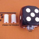 "Shift Knob ""Black Dice"" Rock n Roll Craps Gambler"