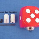 "Shift Knob ""Red Dice"" Rock n Roll Craps Gambler"
