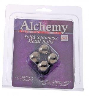 Solid Seamless Metal Anal Balls-SE1366-20