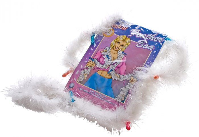 Bachelorette Party Pecker Feather Boa-PD6560