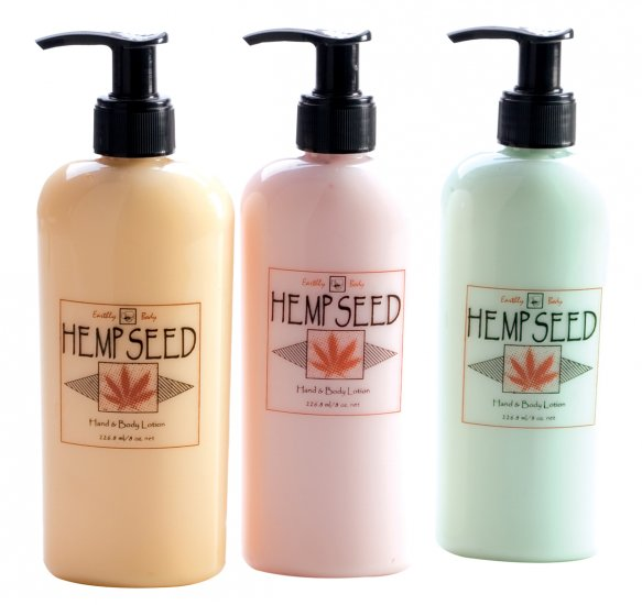 Hemp Seed Body Lotion, 8oz-eb1043