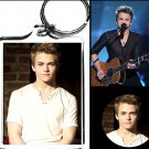 Hunter Hayes keychain and button