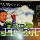 African American Inventors Poster George F. Grant