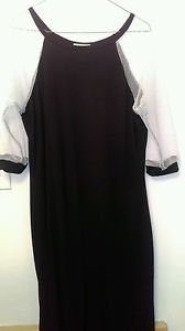 Women's Chesley 2X NWT Black and White Blouse