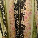 Womens vintage Judy Hornby floral design blouse/shirt size large