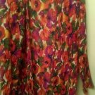 Womens Rhondie multcolor jacket blazer size M