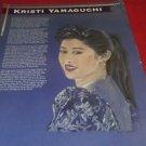 Kristi Yamaguchi educational poster 22 x17 full color