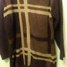 Womens Carolyn Taylor knit sweater sz 1X