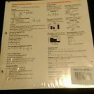 Prentince Hall Mathematics Course 1 MathNotes set of 10 Classroom set
