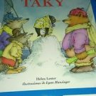 El Pengüino Taky by Helen Lester (2001, Reinforced, Teacher's Edition of...