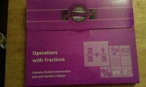 Prentice Hall Skills Intervention Kit Operations with Fractions New