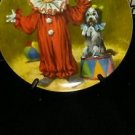 "RECO MCCLELLAND CHILDREN'S CIRCUS COLLECTOR PLATE ""TOMMY THE CLOWN"""