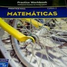Prentice Hall Mathematics Course 2 : Spanish Practice Workbook