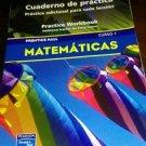 Prentice Hall Mathematics Course 1 : Spanish Practice Workbook (trade paper)