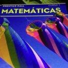 Prentice Hall Mathematics Course 1 : Spanish Version (Hardcover, Student...