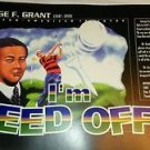 African American inventor poster George F. Grant Golf Tee