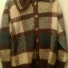 Womens Dress Barn knit cardigan jacket blazer sz 18/20