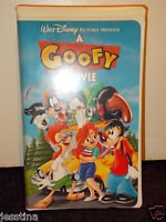 Disney A Goofy Movie & An Extremely Goofy Movie VHS Lot