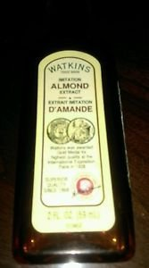 Watkins Products 2oz Almond baking/cooking extracts 2016 december
