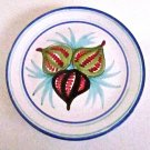 Buon Giorno Fig plate Vietri Italian Majolica wall decor or serving