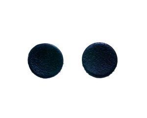 flat black earrings for men - photo #35
