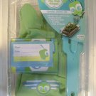 NEW Jr.GARDEN starter set+gloves+guide+stake+box+label+KID/CHILDREN KIT 2 COLORS