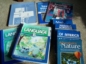 Abeka 5th Grade Language Arts Curriculum 9 Book Lot