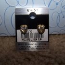 Sparkling Heart Earring  New 100% Surgical Steel CE117G