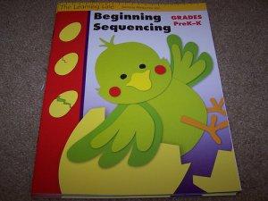 Grades Pre-K -K  Beginning Sequencing Workbook NEW