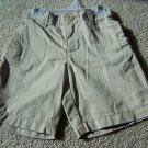 Boys Old Navy Brown/Tan Shorts Size 12/18 18/24M NWT