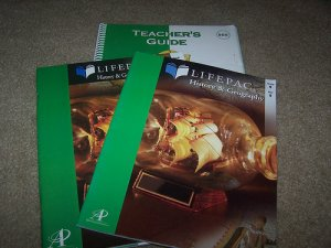 Lifepac History Grade 9 Teachers Guide and Units 9-10