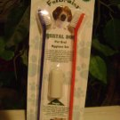 NEW 3-Pc.DOG-DENTAL HYGIENE SET-tooth brush-PET SUPPLIES-small/LARGE-finger-SAFE